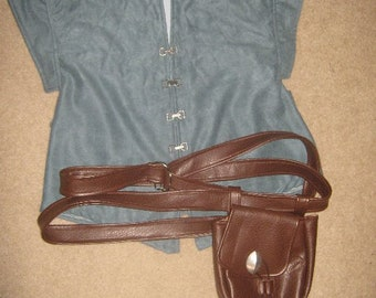 Cosplay Hip Pouch and Tangled Shirt