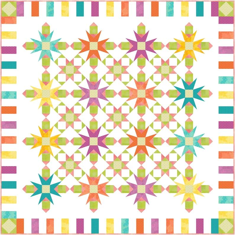 Bloom Quilt Pattern image 0