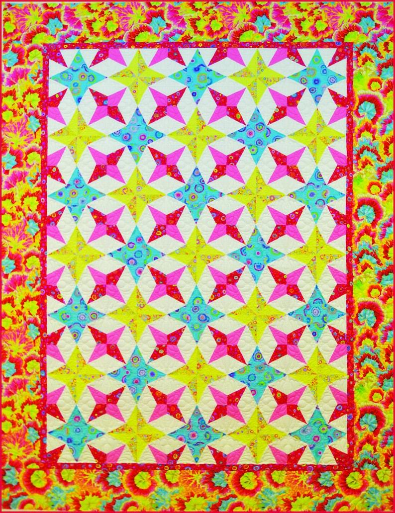 Spring Bouquet Quilt Pattern image 1
