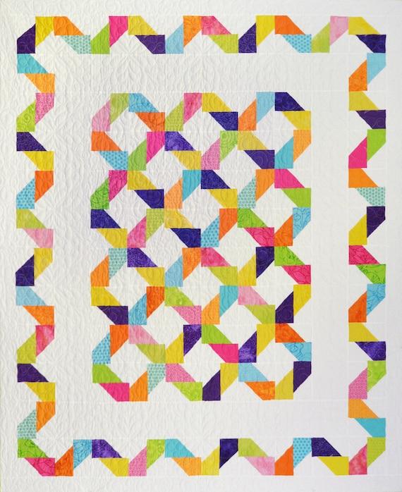 Finleys Fence Quilt Pattern Etsy