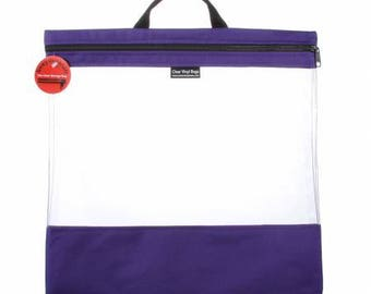 """See Your Stuff - LARGE - TOTE - 16"""" x 16"""" (Multiple Colors Available)"""