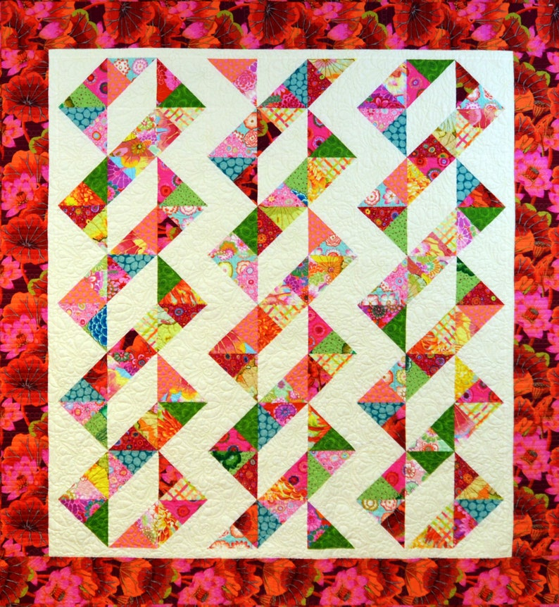Combo Weave Quilt Pattern image 1