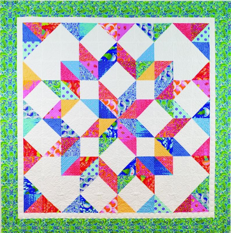 Summer Star Quilt Pattern image 0