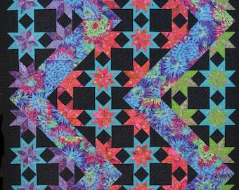 Lightning Quilt Pattern
