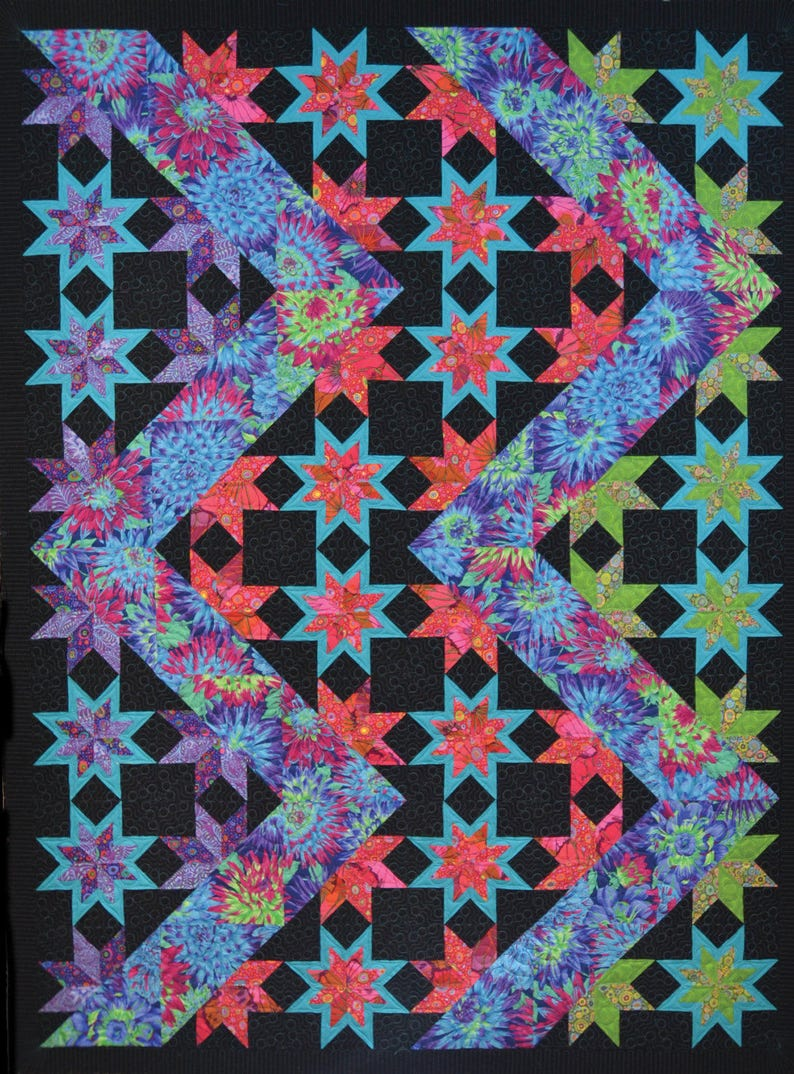 Lightning Quilt Pattern image 1