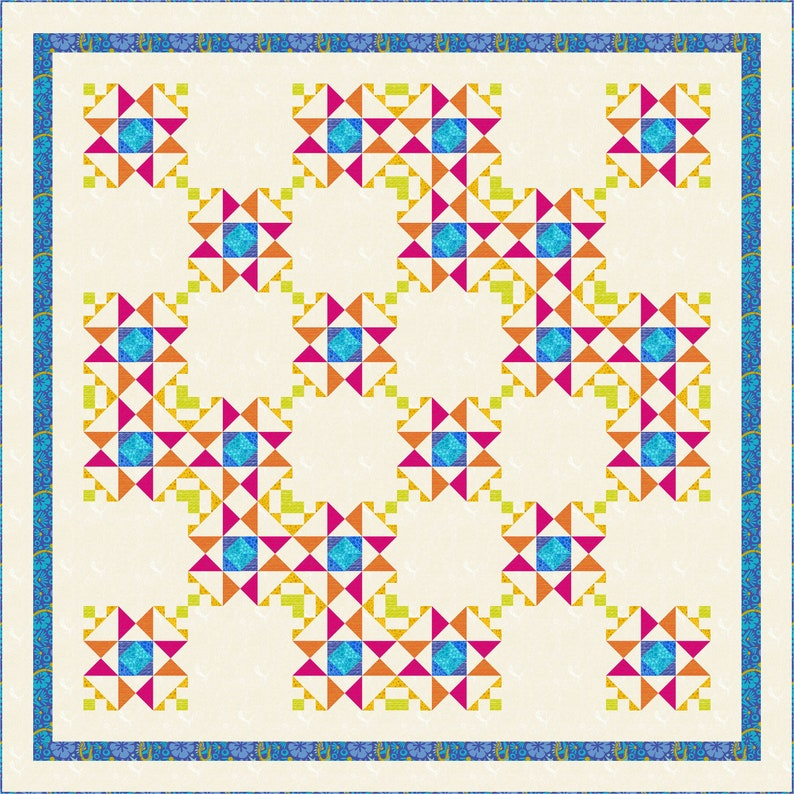 Be Dazzled Quilt Pattern image 0