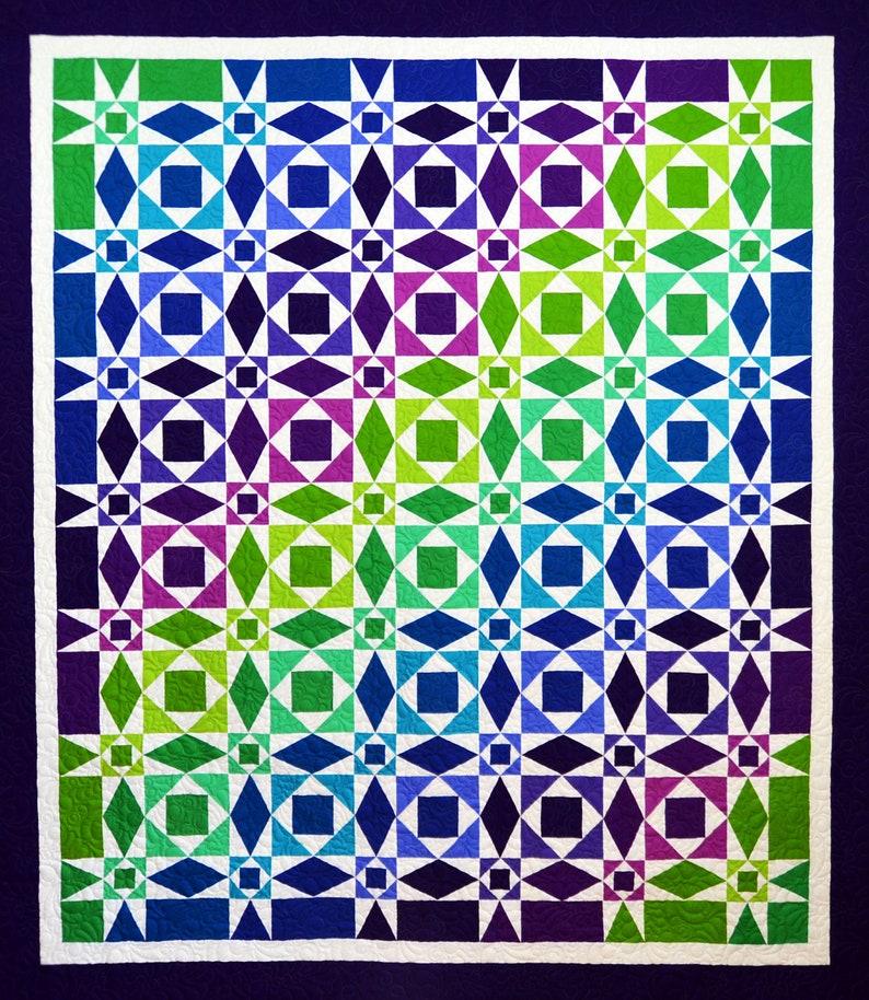 Calm Seas Quilt Pattern image 1