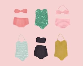 Endless Summer Swimsuit Print