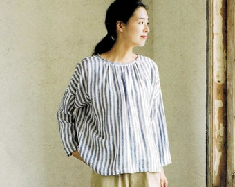 a2945ab984dff4 Japanese Style Simple Clothing Sewing Patterns, Japanese Pattern Book by  May Me, Michiyo Ito, Women Dress, blouse, Pants, Skirt Tutorial