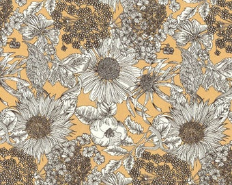 4c02276fb1b1d Liberty Gift, Swim Dunclare, Flower Patchwork Quilt Fabric, Liberty Tana  Lawn Fabric, Liberty of London, Liberty Japan, Cotton Floral Print