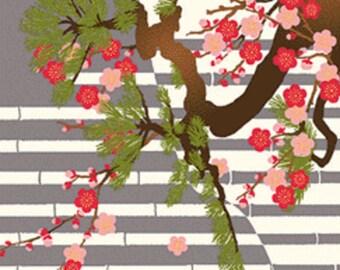 Tapisserie Traditionnelle Japonaise Fleur De Lotus Cadeau Etsy