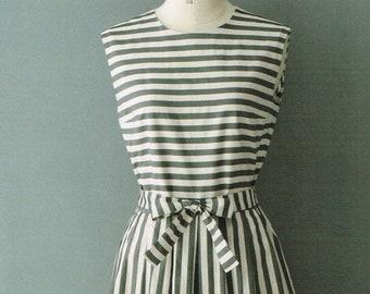 b30fdea56c6 Linen   Cotton One Piece Dress Machiko Kayaki Japanese