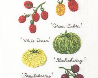 Vegetable Hand Embroidery Designs Ekenasfiber Johnhenriksson Se