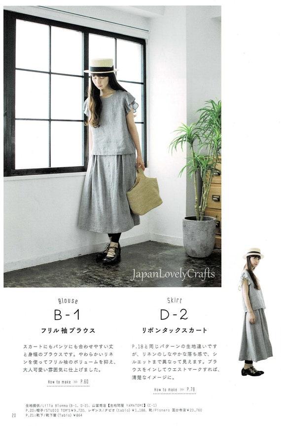 Einfach ein Stück Kleid Muster Feminine Outfit japanische   Etsy