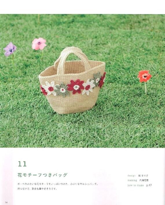 Jute Faden häkeln Kago Tasche Japanisches Handwerk Buch für | Etsy