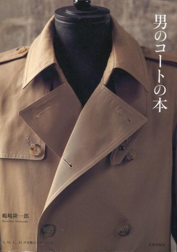 Mens Coat By Ryuichiro Shimazaki Japanese Sewing Etsy