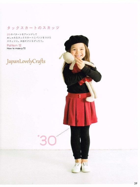 Kinderkleid Overlock Nähmaschine japanische Nähen Musterbuch   Etsy