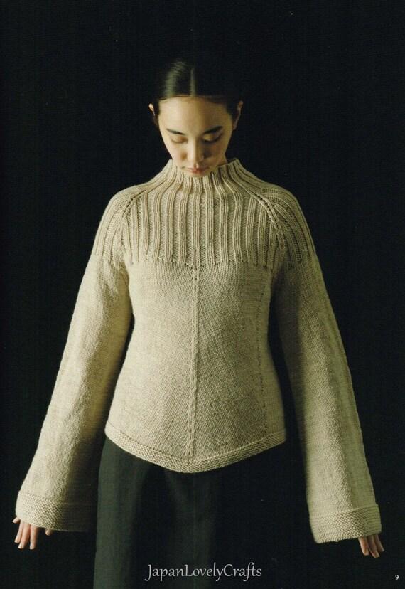 Stylish Hand Knit Patterns Japanese Knitting Pattern Book Women