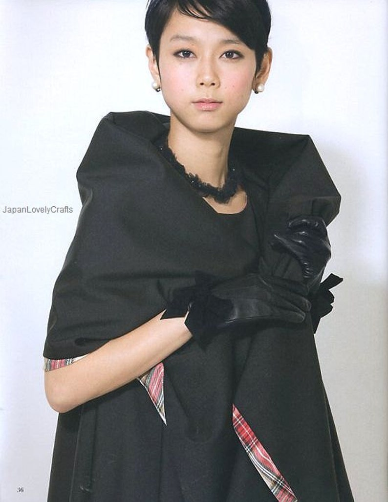 f4ee551e39fca7 A-Line eendelige jurk patronen Kimiko Kawai Japans ambacht