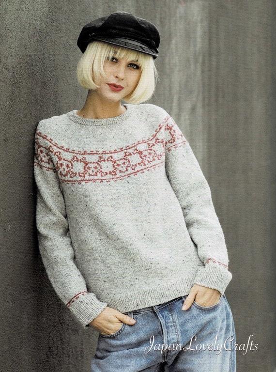 Modern Unique Knit Motif Patterns Japanese Knitting Stitch Etsy