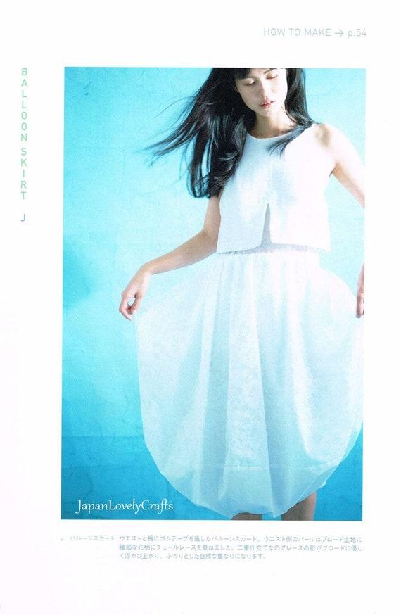 Einfach bequem Kleidungsstücke japanische Nähen Musterbuch   Etsy
