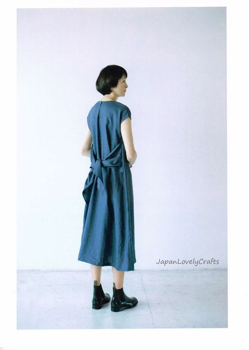 Simple Dress Patterns Casual Comfortable Design Japanese image 0