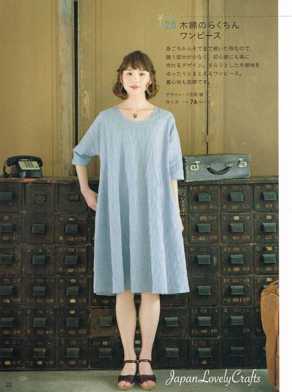 Japanischen Stil Kleidung einfache Nähen Muster Buch   Etsy