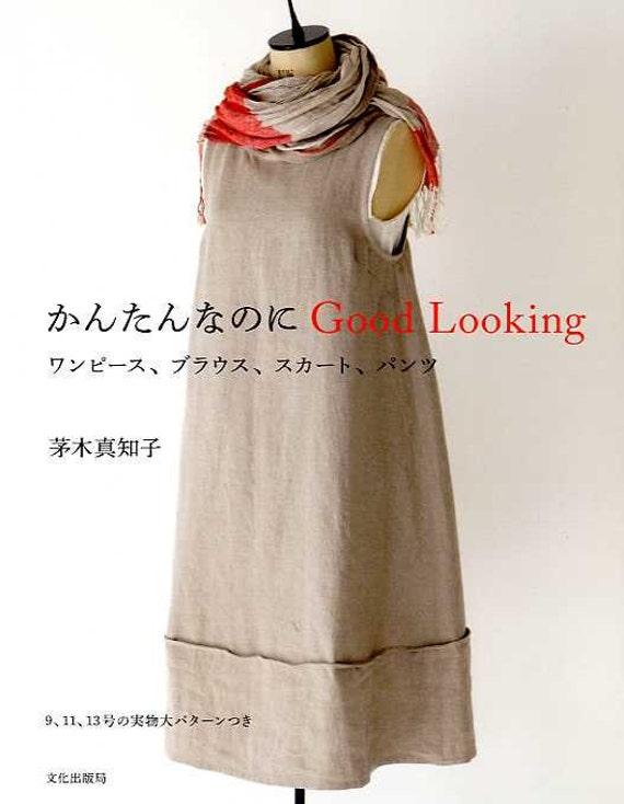 Einfache Schnittmuster japanische Nähen Muster-Buch für | Etsy