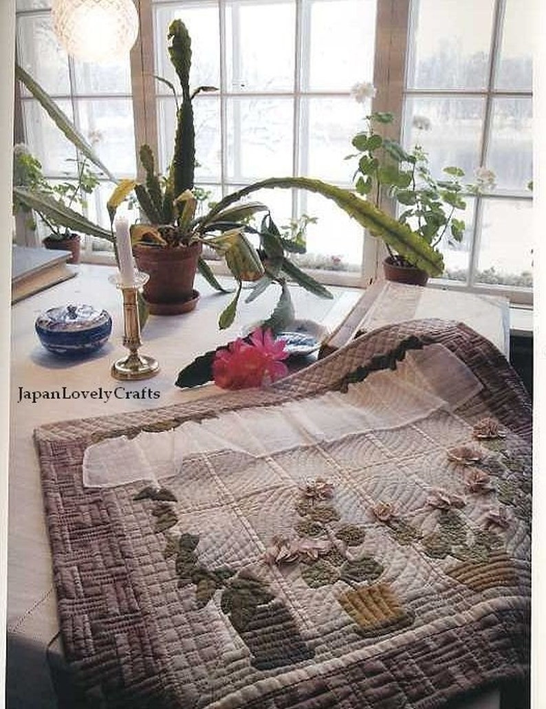 4ad0fbd5cd Nordic Quilts by Yoko Saito Japanese Craft Pattern Book for