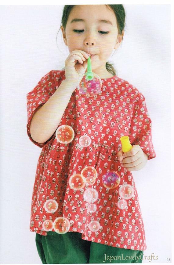 Kawaii lässig Kinder Kleidung Muster japanische Nähen Muster | Etsy
