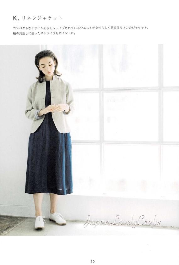 Einfache japanische Stil Kleid Muster Enanna japanische | Etsy