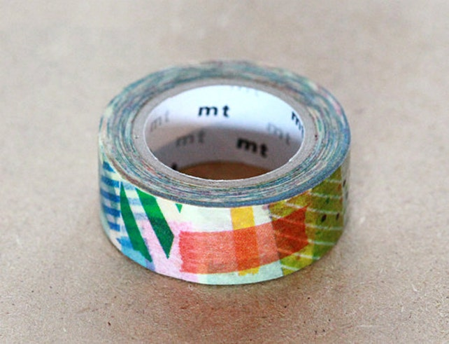 Japanese Washi Paper Masking Tape - mt for kids 2014 - Colorful Patch Tape - Scrapbooking, Adhesive, Wrapping, Planner Deco, Kawaii Sticker