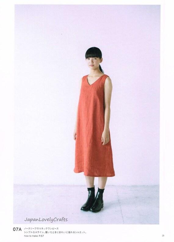 Lässig bequem Design einfaches Kleid Muster japanische   Etsy