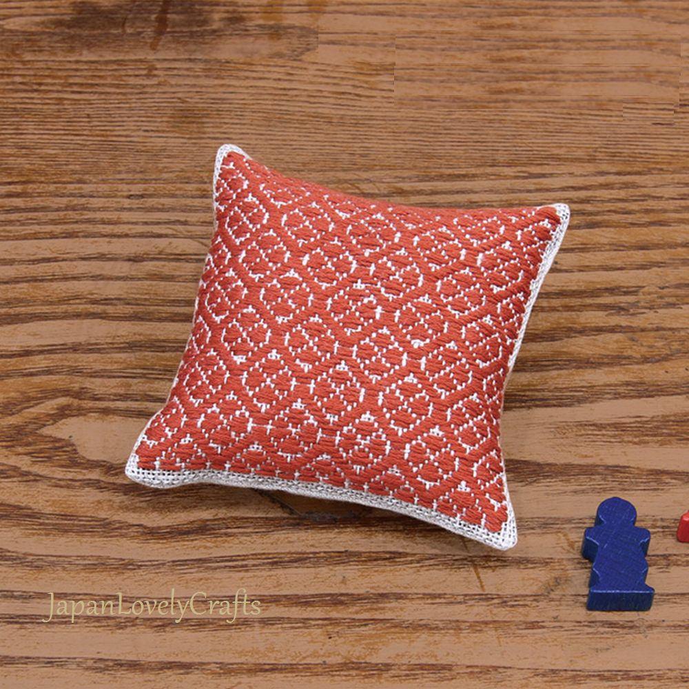 Japanese Kogin Pincushion Kit Modern Sashiko Embroidery DIY   Etsy