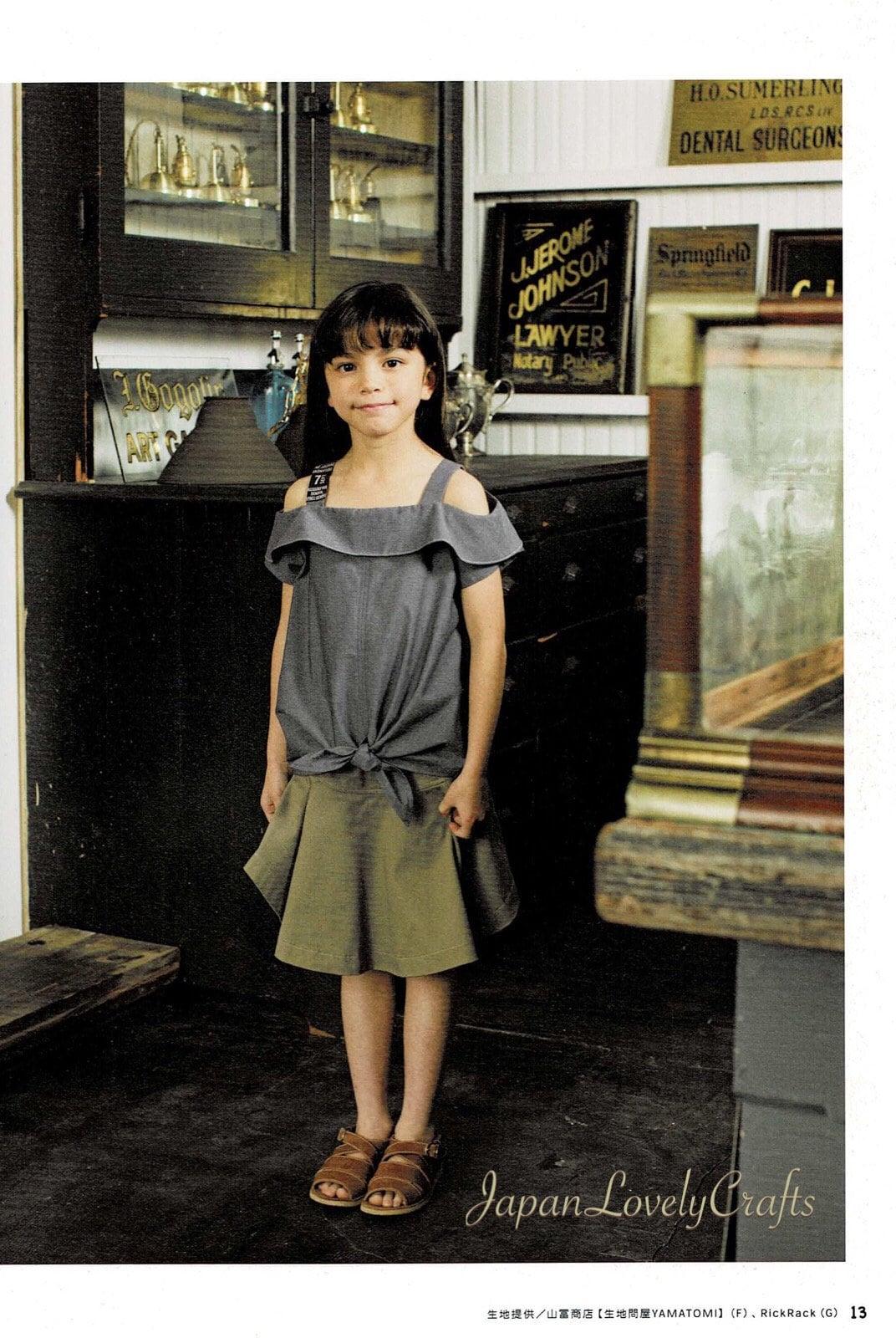 Kawaii lässig Mädchen Kleidung Muster japanische Nähen