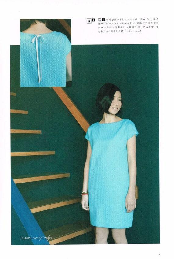 Japanischen Stil Kleidung einfache Nähen Musterbuch Frauen   Etsy