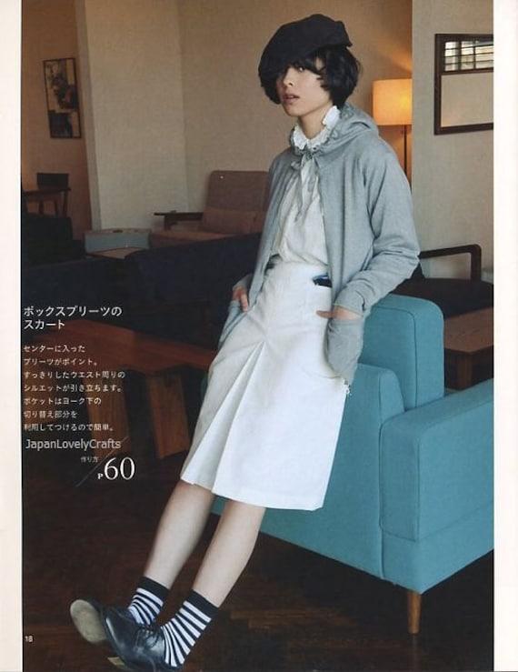 Leinen & Baumwolle Kleid Muster japanische Nähen Muster-Buch | Etsy