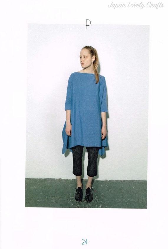 Einfach Kleid Schnittmuster Asuka Hamada japanische Nähen | Etsy