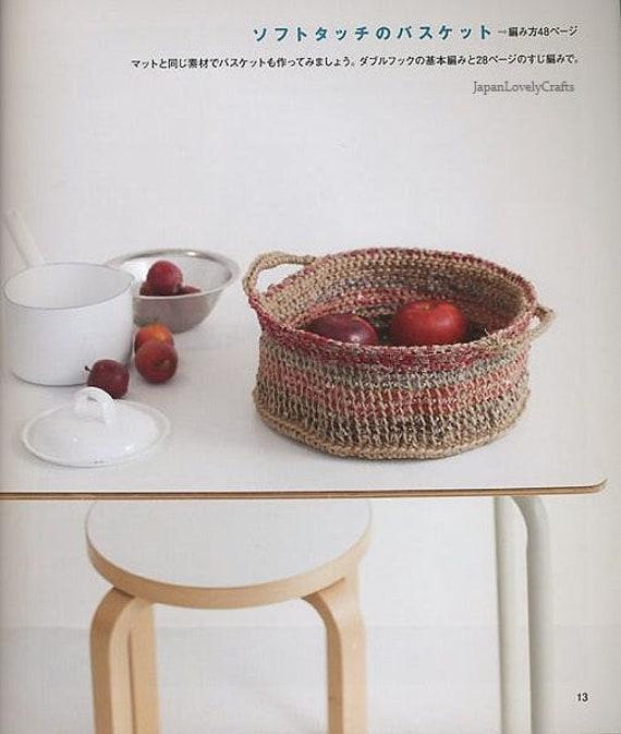 Tunesischen Häkeln Japanisches Handwerk Buch Kotomi