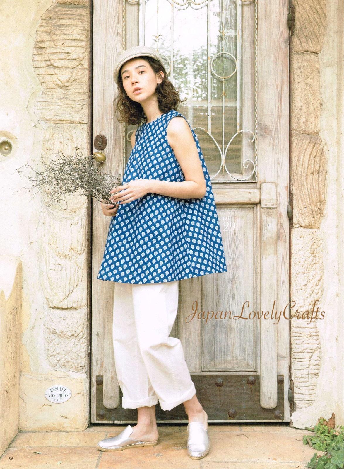 Souleiado Stoff Kleidung Muster japanische Nähen Muster-Buch