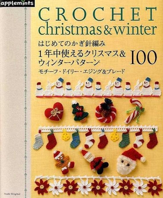 Häkeln Weihnachten & Winter 100 japanische einfach häkeln | Etsy