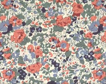 Liberty Gift, Liberty Tana Lawn Fabric, Liberty of London, Liberty Japan, Claire-Aude, Flower Print Scrap, Romantic Floral Patchwork Quilt