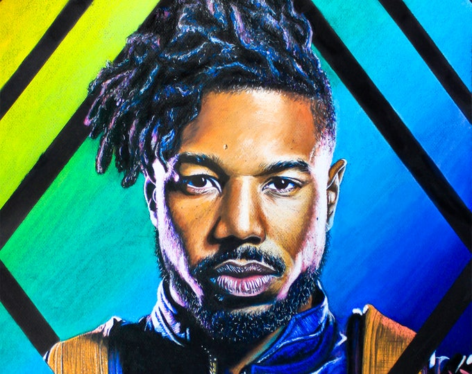 Erik Killmonger Art Print