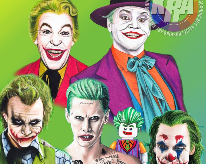 Jokers Art Print