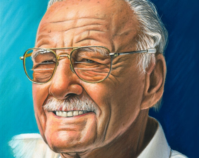 Stan Lee Art Print