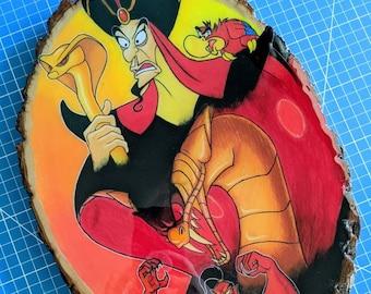 Jafar Original Drawing on Wood