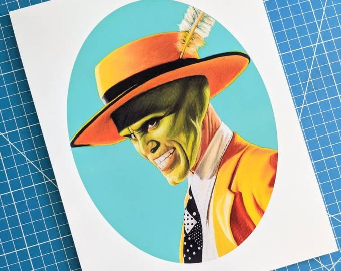 Featured listing image: The Mask Art Print