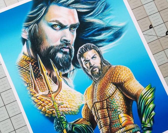 Aquaman Fine Art Print