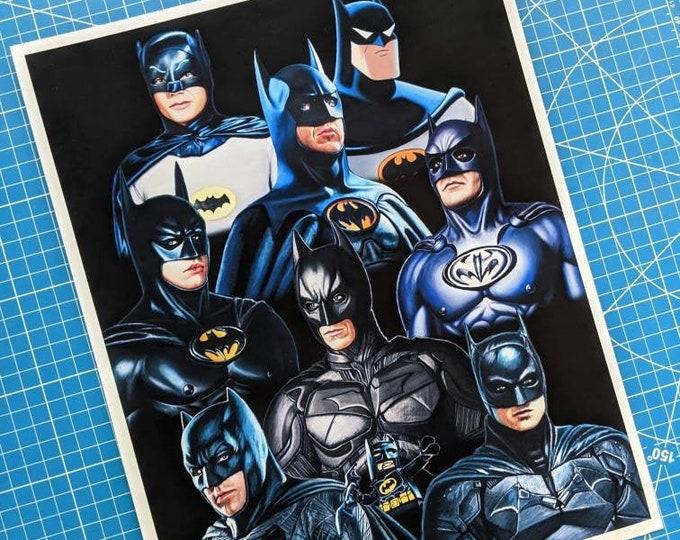 Featured listing image: Batman Art Print