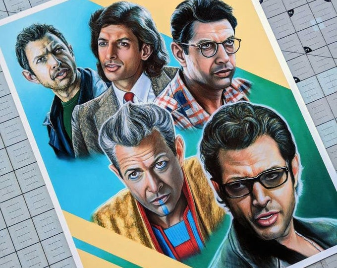 Jeff Goldblum Art Print